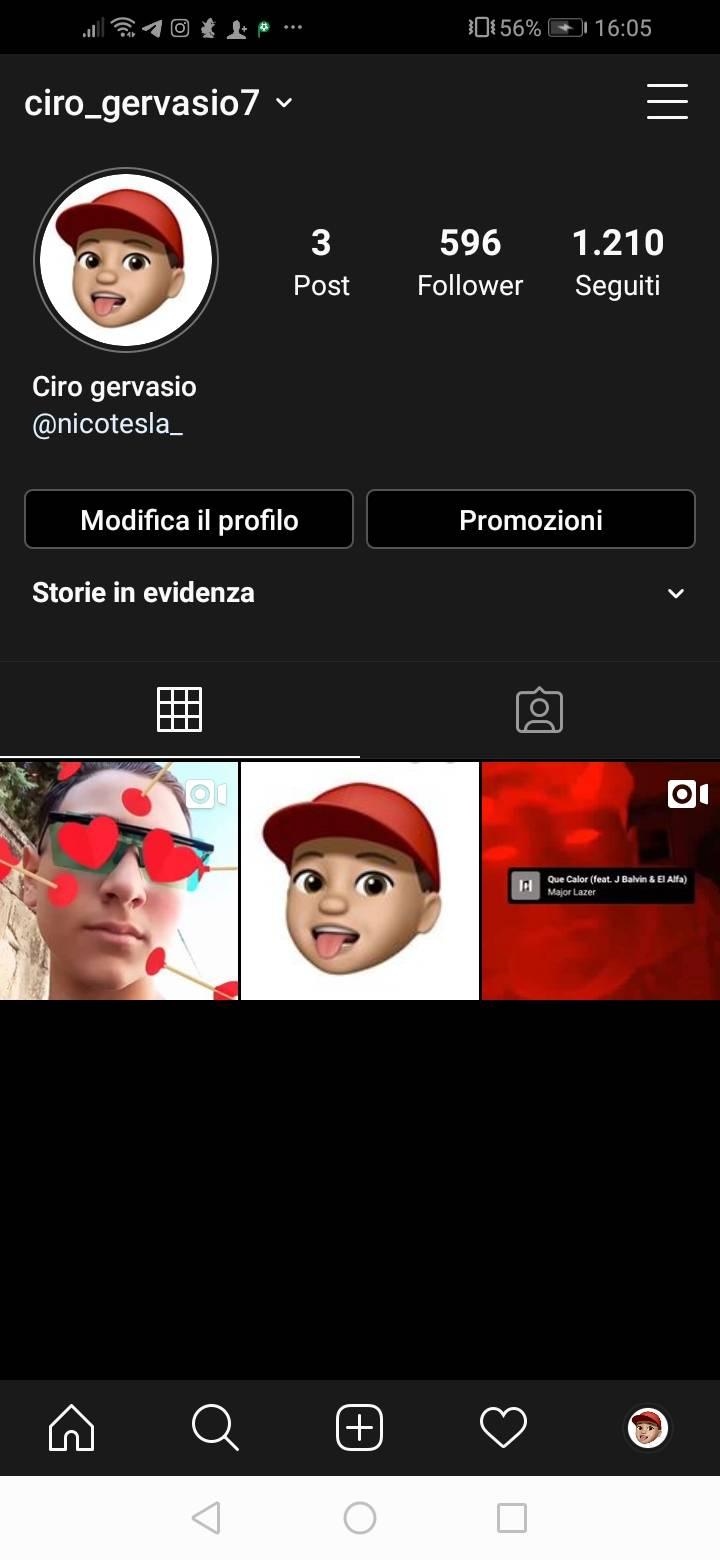 Scambio pubblicità su instagram