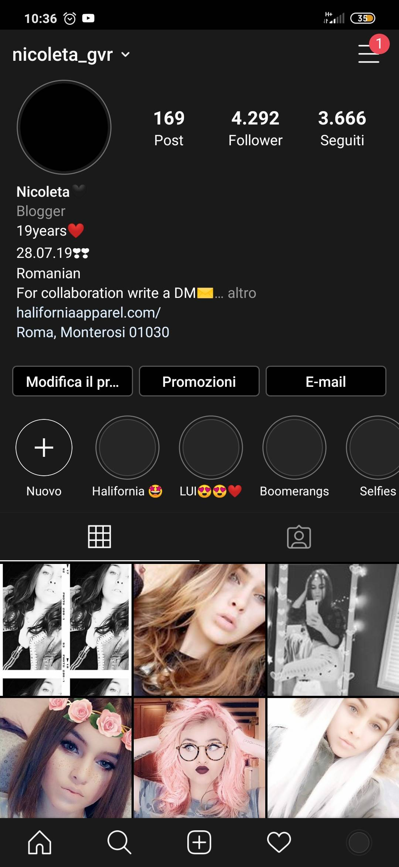 Instagram 4.292 iscritti-faccio pubblicità nei story