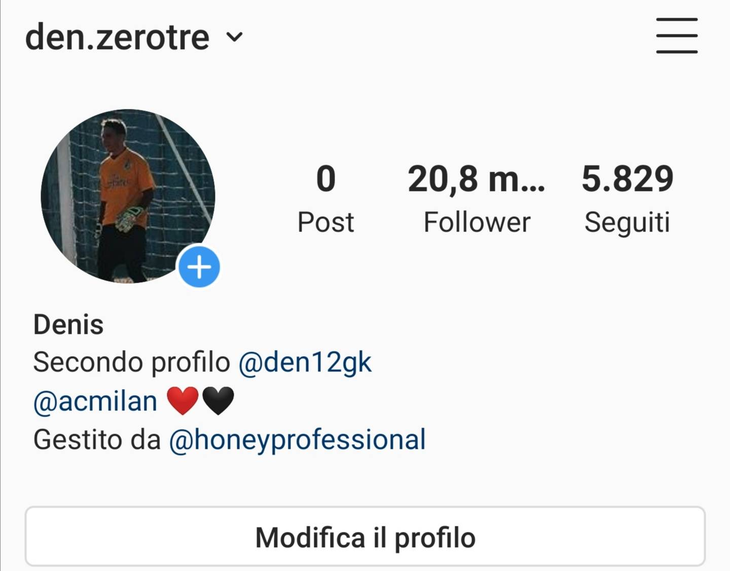 Ho 20.8 k followers, scambio pubblicitá con stories