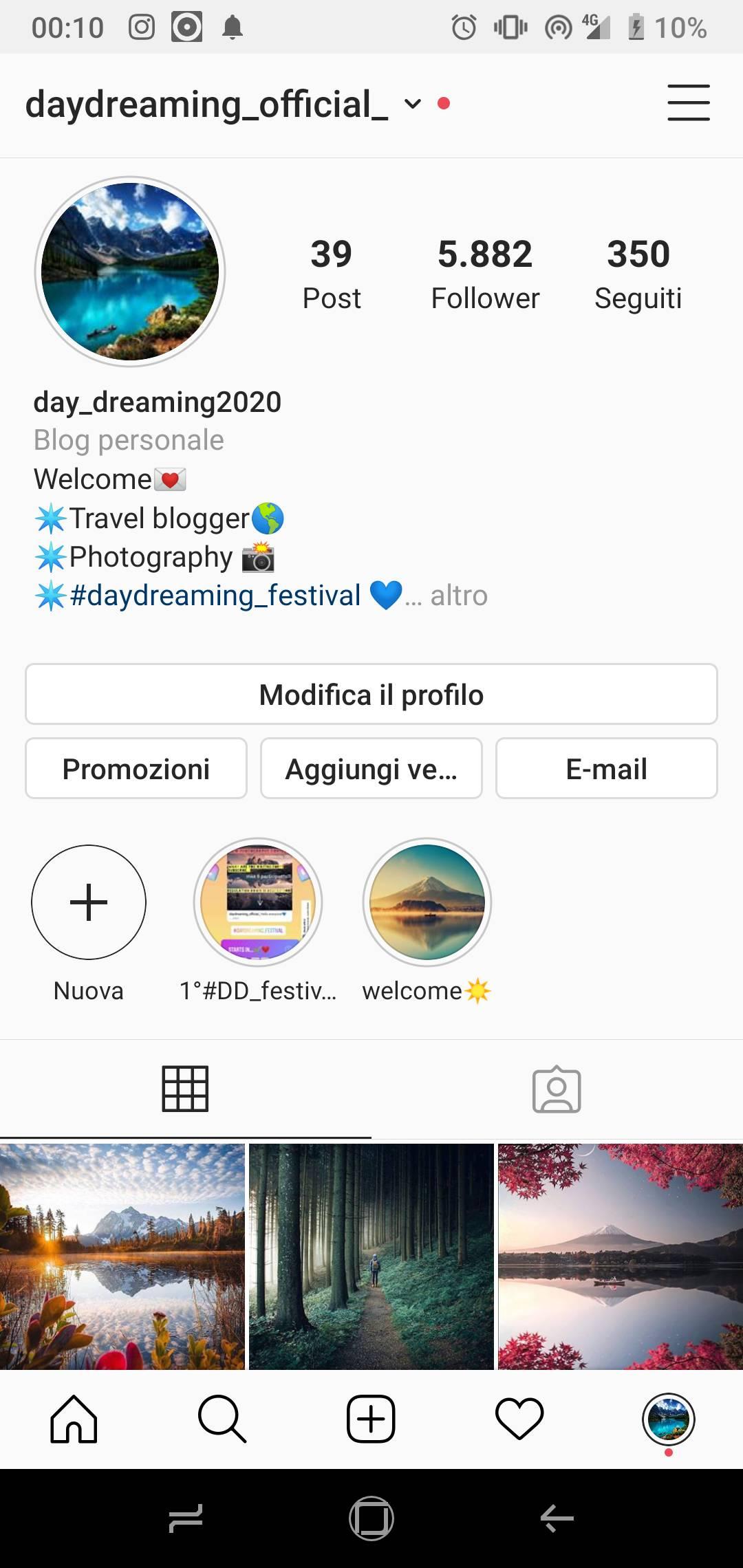 Offro pubblicità con il mio account da 6k follower, sponsorizzo con post solo per prodotti, e IG stories, COMPENSO DA DEFINIRE!