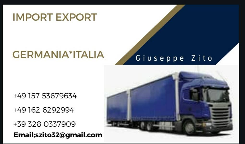 IMPORT EXPORT GERMANIA ITALIA